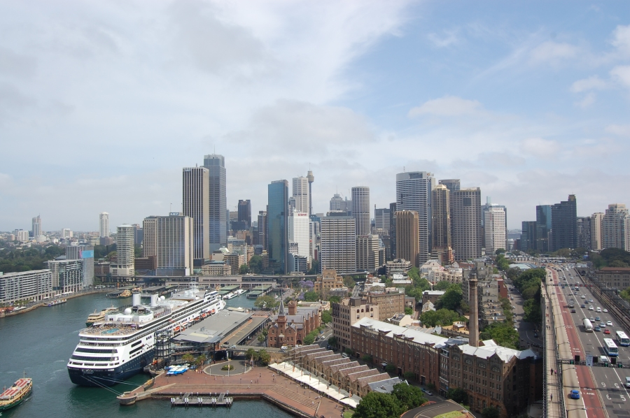 Downtown Sydney - I would move there if I could!